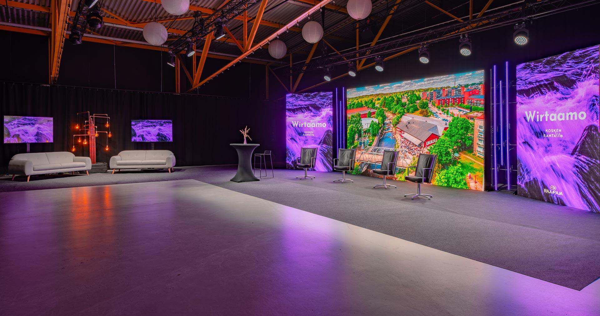 Streamaus-studio Helsinki Uusimaa